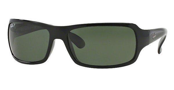 RAY-BAN Herren Sonnenbrille » RB4075« in 601/58 - schwarz/grün