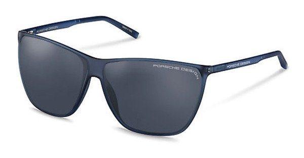 Porsche Design Sonnenbrille » P8612« in B - blau/ schwarz