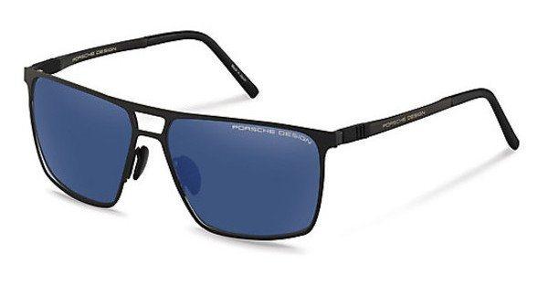 Porsche Design Herren Sonnenbrille » P8610« in A - schwarz/blau