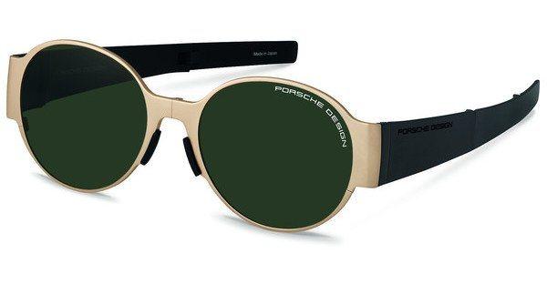 Porsche Design Sonnenbrille » P8592« in C - gold/grün