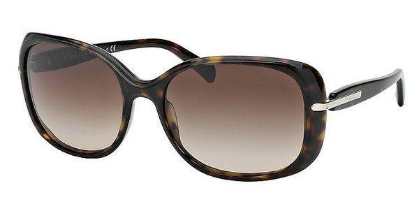 PRADA Prada Damen Sonnenbrille » PR 08OS«, schwarz, 1AB0A7 - schwarz/grau