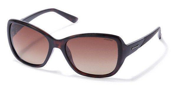 Polaroid Damen Sonnenbrille » P8318« in 0BM/LA - braun/braun