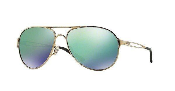 Oakley Damen Sonnenbrille »CAVEAT OO4054« in 405415 - gold/grün