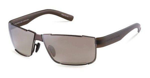 PORSCHE Design Porsche Design Herren Sonnenbrille » P8509«, braun, D - braun/ silber