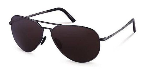 PORSCHE Design Porsche Design Herren Sonnenbrille » P8605«, grau, A - grau/braun