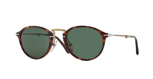 Persol Herren Sonnenbrille » PO3075S« in 24/31 - braun/grün