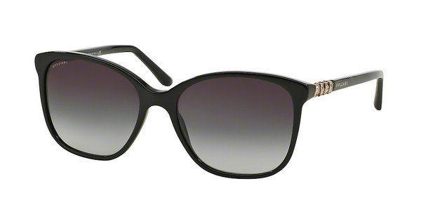 Bvlgari Damen Sonnenbrille » BV8152B« in 501/8G - schwarz/grau