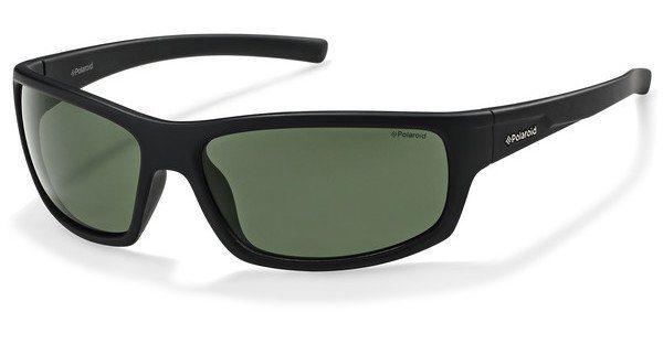 Polaroid Herren Sonnenbrille » P8411« in 9CA/RC - schwarz/grün