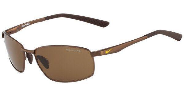 Nike Herren Sonnenbrille » AVID SQ EV0589« in 203 - braun/braun