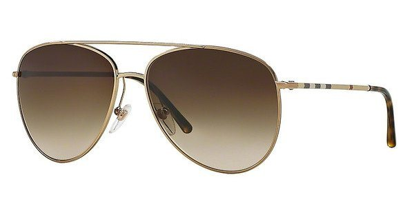 Burberry Damen Sonnenbrille » BE3072« in 118913 - gold/braun