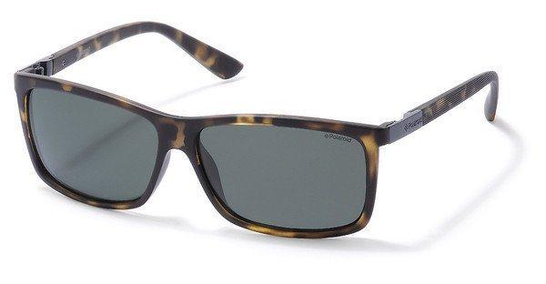 Polaroid Herren Sonnenbrille » P8346« in 0BM/RC - braun/grün