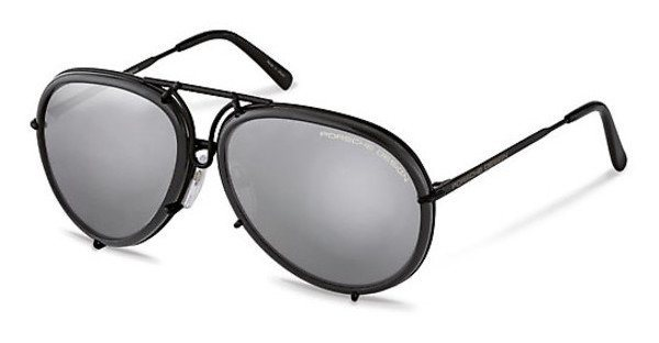 Porsche Design Herren Sonnenbrille » P8613« in A - schwarz/ braun