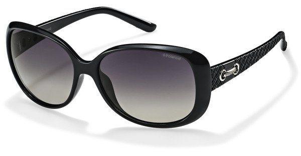 Polaroid Damen Sonnenbrille » P8430« in KIH/IX - schwarz/grau