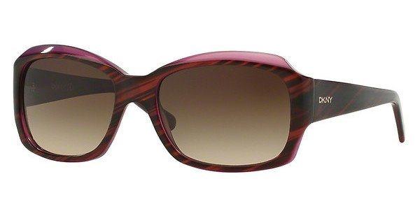 DKNY Damen Sonnenbrille » DY4048« in 342413 - braun/braun