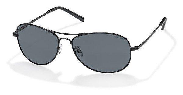 Polaroid Herren Sonnenbrille » PLD 1004/S« in 003/C3 - schwarz/blau
