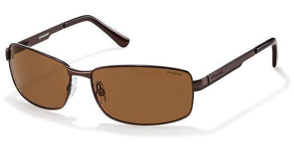 Polaroid Herren Sonnenbrille » P4416«, braun, 09Q/PK - braun/braun