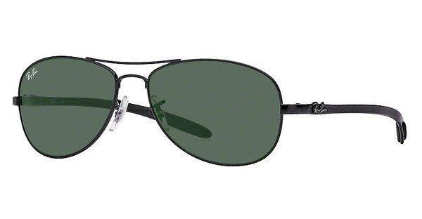 RAY-BAN Herren Sonnenbrille » RB8301« in 002 - schwarz/grün