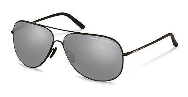 Porsche Design Sonnenbrille » P8605« in D - schwarz/silber