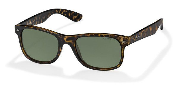 Polaroid Herren Sonnenbrille » PLD 1015/S« in V08/H8 - braun/grün