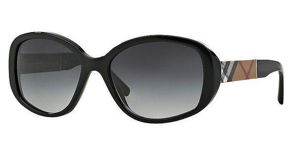 Burberry Damen Sonnenbrille » BE4159« in 34338G - schwarz/grau