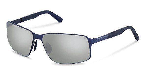 Porsche Design Herren Sonnenbrille » P8565« in F - blau/silber