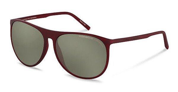 Porsche Design Sonnenbrille » P8596« in C - rot/grau