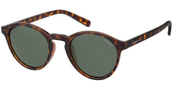 Polaroid Herren Sonnenbrille » PLD 1013/S« in V08/H8 - braun/grün