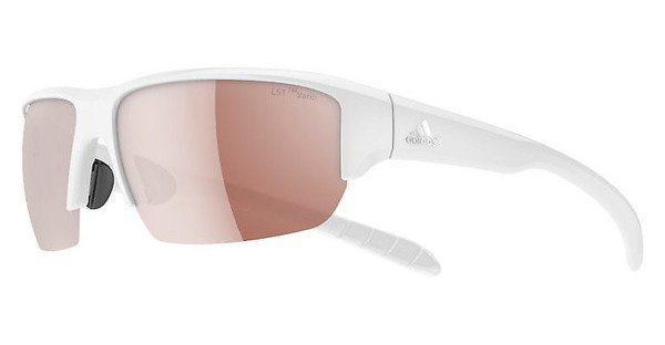 Adidas Performance Sonnenbrille »Kumacross Halfrim A421« in 6054 - weiß/braun