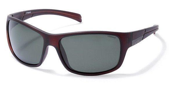 Polaroid Sonnenbrille » P8360« in 09Q/RC - braun/grün