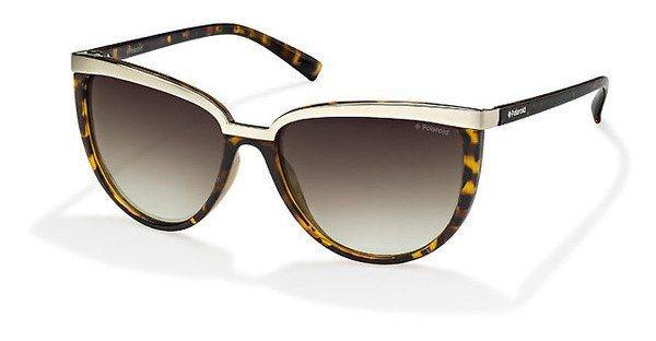Polaroid Damen Sonnenbrille » PLD 4016/S« in V08/LA - braun/braun