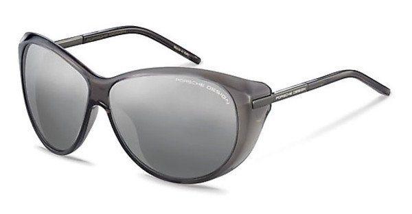 Porsche Design Damen Sonnenbrille » P8602« in A - grau/silber