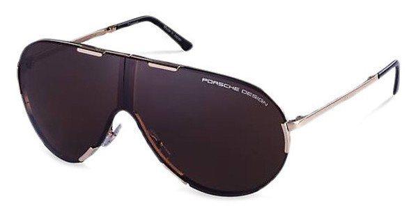 Porsche Design Herren Sonnenbrille » P8486« in A - gold/braun