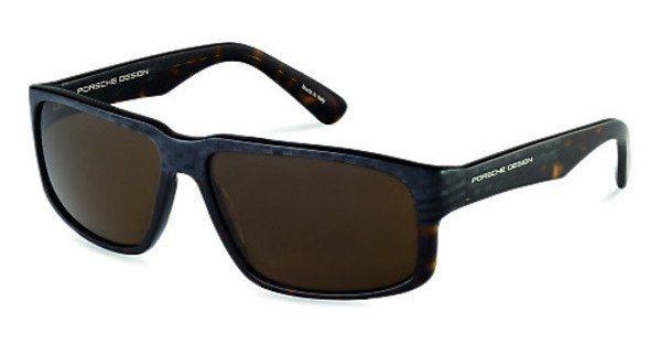Porsche Design Herren Sonnenbrille » P8547« in B - grau/braun