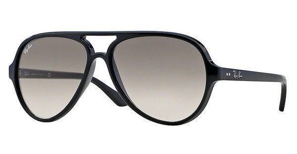 RAY-BAN Herren Sonnenbrille »CATS 5000 RB4125« in 601/32 - schwarz/grau
