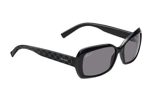 Gucci Damen Sonnenbrille » GG 3206/S« in D28/BN -  schwarz / grau