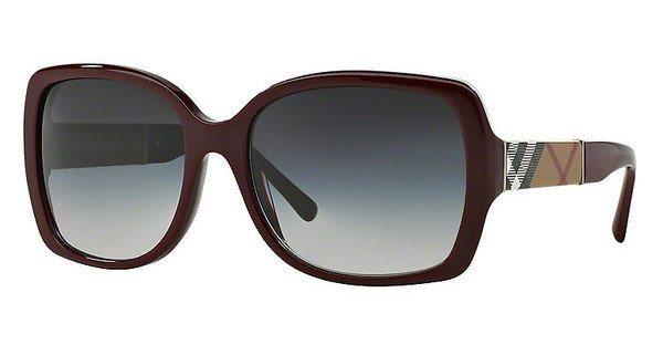 Burberry Damen Sonnenbrille » BE4160« in 34038G - braun/grau