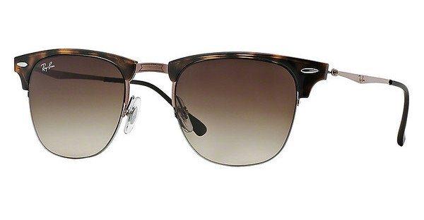 RAY-BAN Herren Sonnenbrille » RB8056« in 155/13 - braun/braun