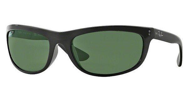 RAY-BAN Herren Sonnenbrille »BALORAMA RB4089« in 601/58 - schwarz/grün
