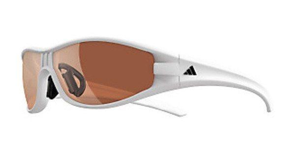 Adidas Performance Sonnenbrille »Little Evil A413« in 6051 - weiß/braun