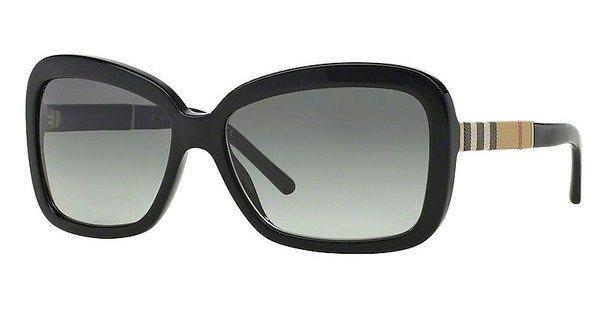Burberry Damen Sonnenbrille » BE4173« in 300111 - schwarz/grau