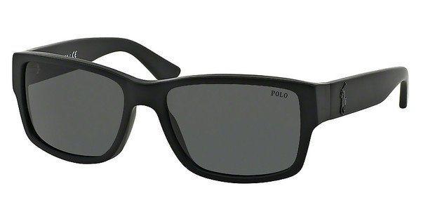Polo Herren Sonnenbrille » PH4061« in 500187 - schwarz/grau