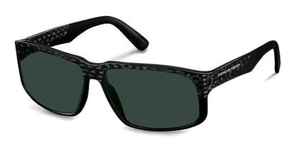 Porsche Design Herren Sonnenbrille » P8547« in A - grau/grün