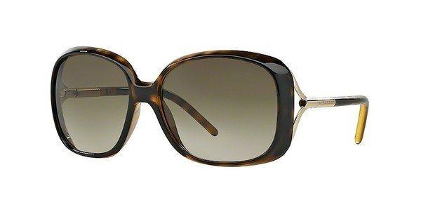 Burberry Damen Sonnenbrille » BE4068« in 300213 - braun/braun