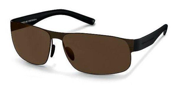 PORSCHE Design Porsche Design Herren Sonnenbrille » P8531«, braun, D - braun/braun