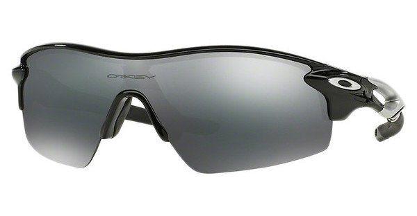 Oakley Herren Sonnenbrille »RADARLOCK PITCH OO9182« in 918210 -  schwarz / schwarz