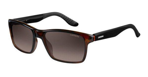 Carrera Herren Sonnenbrille » CARRERA 8002« in 2XF/LA - schwarz/braun