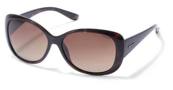 Polaroid Damen Sonnenbrille » P8317« in 0BM/LA - braun/braun