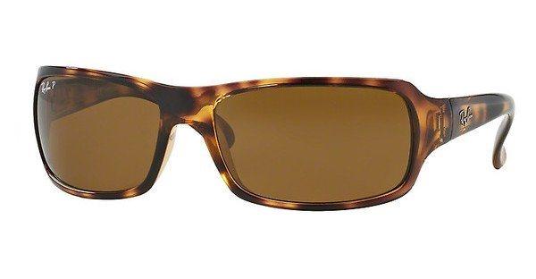 RAY-BAN Herren Sonnenbrille » RB4075« in 642/57 - braun/braun
