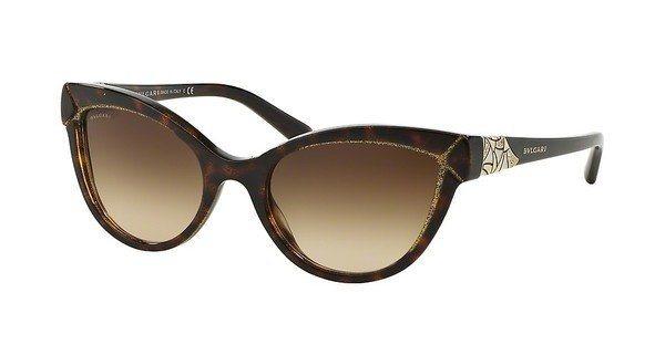 Bvlgari Damen Sonnenbrille » BV8156B« in 535313 - braun/braun