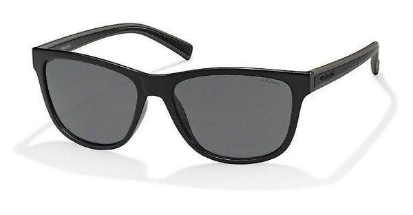 Polaroid Herren Sonnenbrille » PLD 2009/S« in QLK/Y2 - schwarz/grau